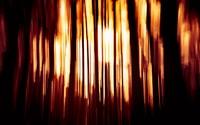 orange light on dark room 暗室的橙色灯