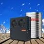 圣普诺(SANPONE) 商用顶吹常温工程套餐 空气能热泵 水循环热水器 工厂/学校/酒店/太空能 空气能主机(5匹超低温主机) 工程专用(包配送安装)