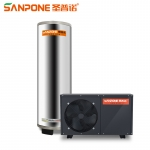 圣普诺(SANPONE) 空气能热水器  全自动智能家用商用无盘管水箱热水器 水循环空气源热泵 200L/1.5P/5-6人用 全国包配送/上门安装