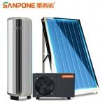 圣普诺(SANPONE) 太空能热水器 平板分体承压水箱别墅家用商用水循环热泵太阳能空气能一体热水器 500L/3P/12-15人用(配3块平板) 全国包配送/上门安装