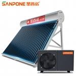 圣普诺(SANPONE) 太空能热水器 水循环一体机 一级能效智能双水位太阳能/空气能家用/商用热泵 350L/42管/2.0P/8-10人(优选型) 全国包配送/上门安装