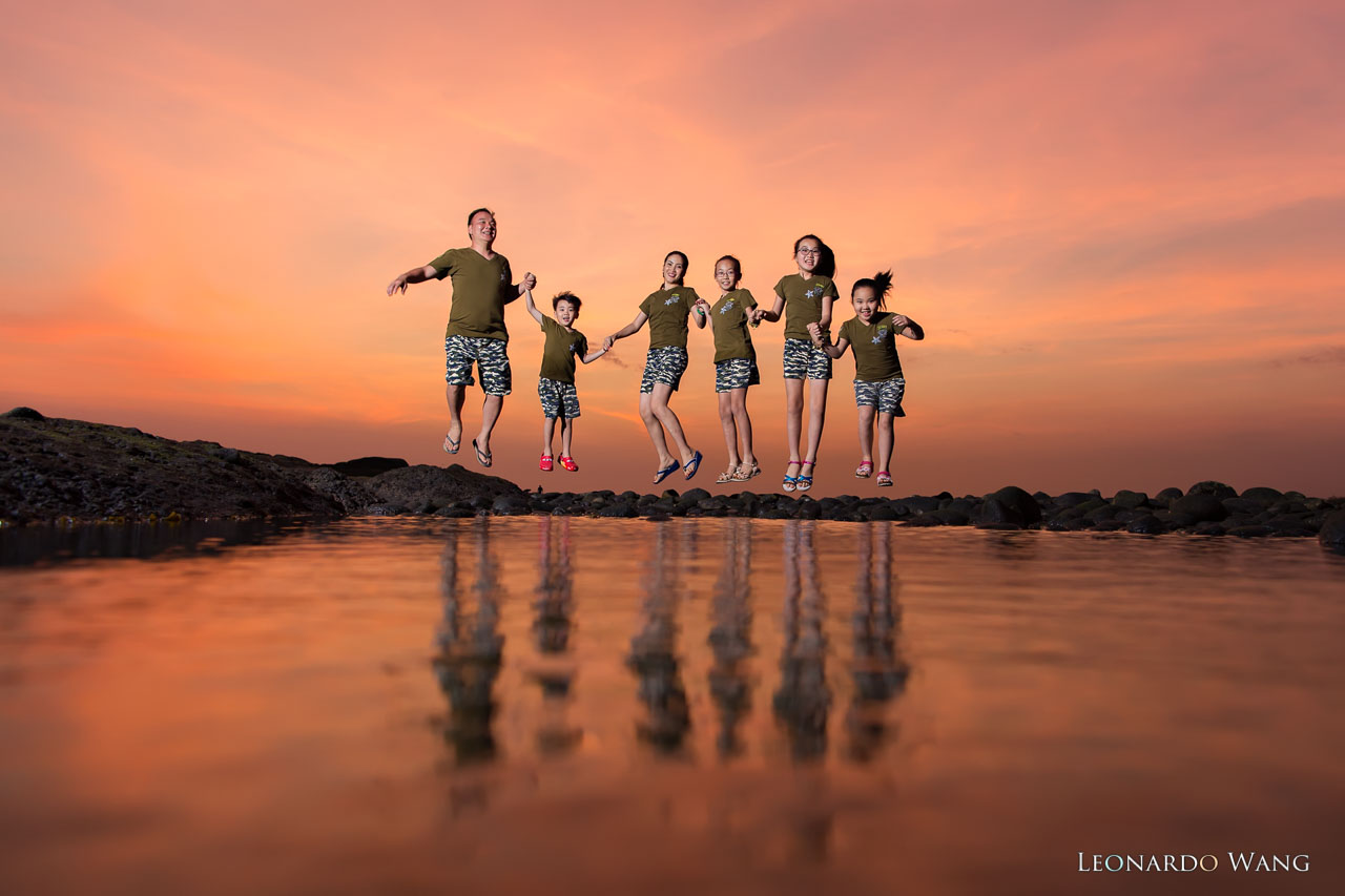 巴厘岛家庭旅游摄影&亲子照-The family of MR.LAM