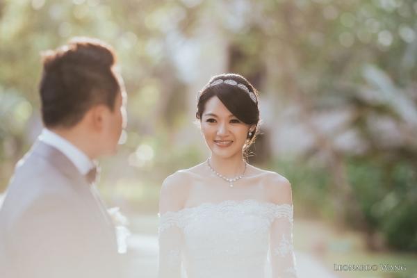 巴厘岛婚礼摄影-港丽无限教堂婚礼Conrad Infinity Chapel