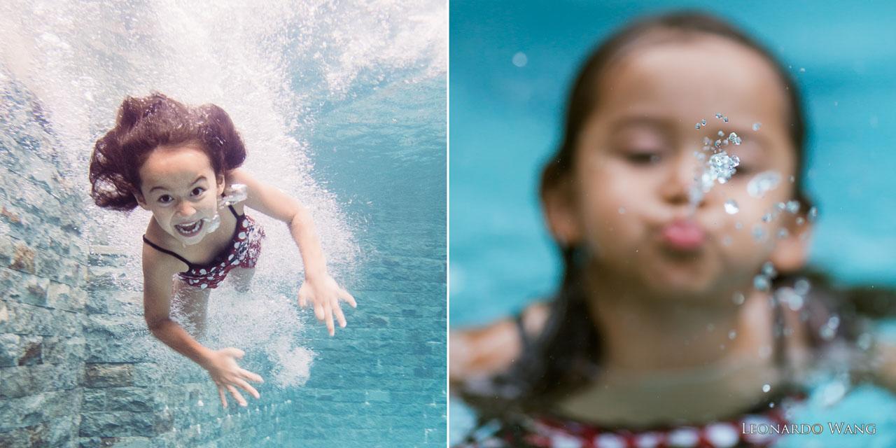 巴厘岛家庭儿童摄影和水下摄影集