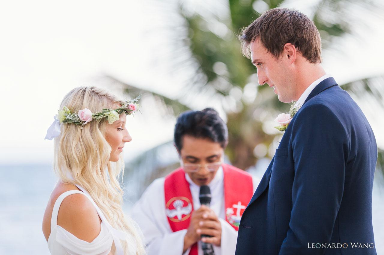 巴厘岛草坪婚礼Citakara Sari东海岸清新别墅婚礼