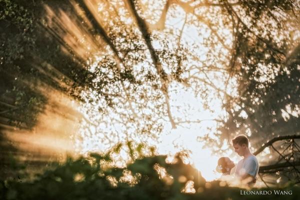 温暖的巴厘岛婚纱摄影-自然别致的蜜月情侣写真集-11