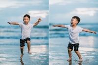 欢乐的巴厘岛家庭亲子照-巴厘岛家庭旅行和儿童摄影