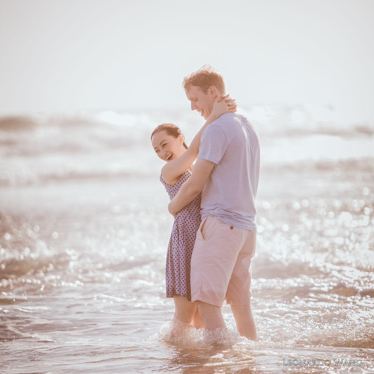 温暖的巴厘岛婚纱摄影-自然别致的蜜月情侣写真集-04