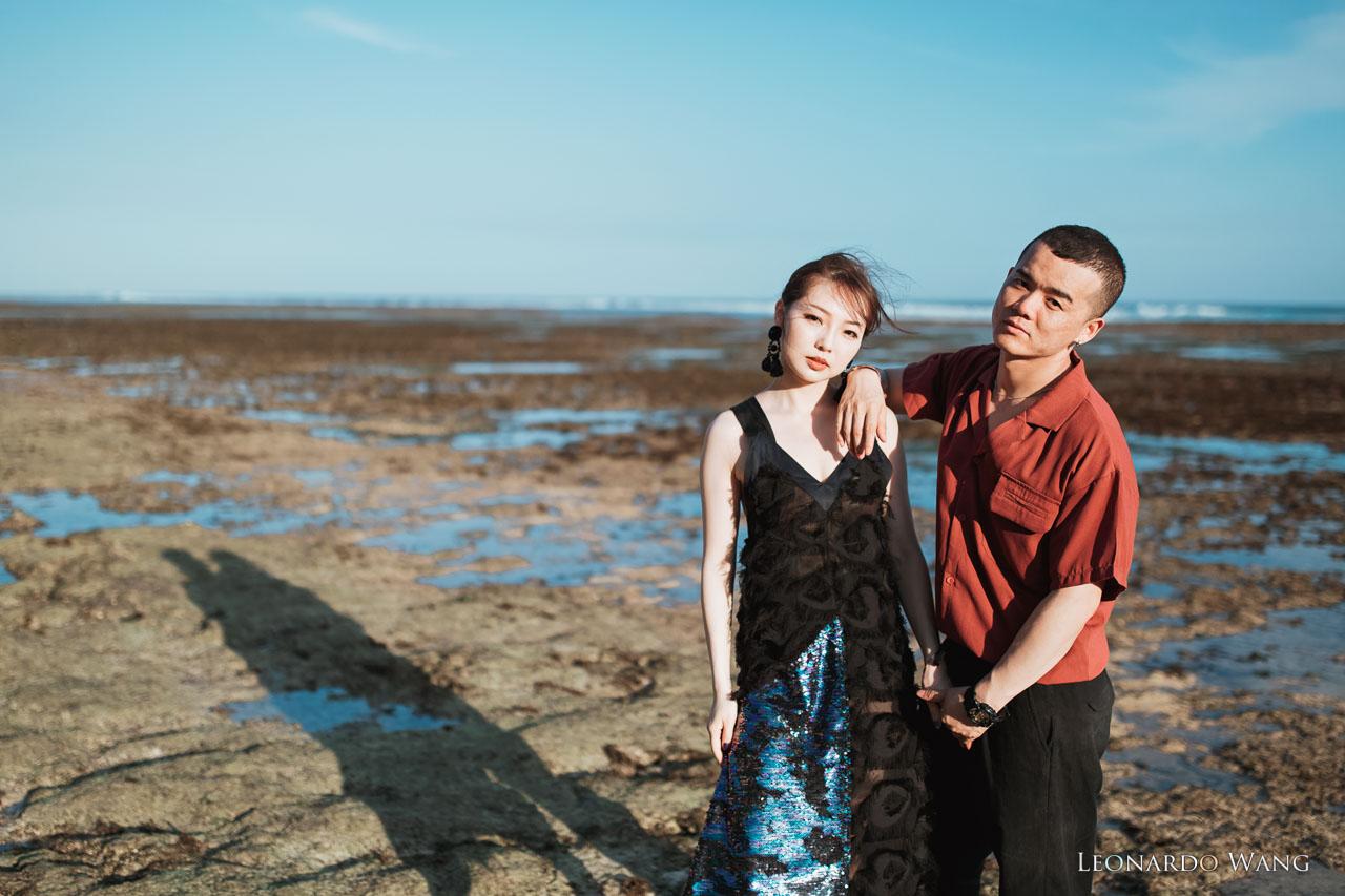 巴厘岛清新的婚纱摄影-真情流露的活泼情侣写真集