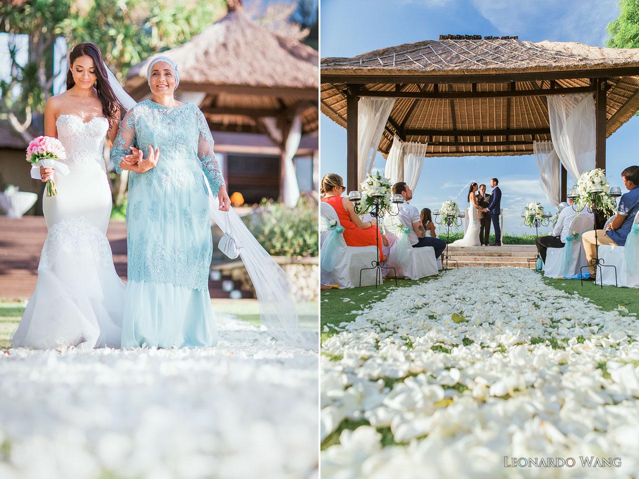 巴厘岛阿雅娜奢华的总统别墅婚礼-AYANA-完美的婚礼