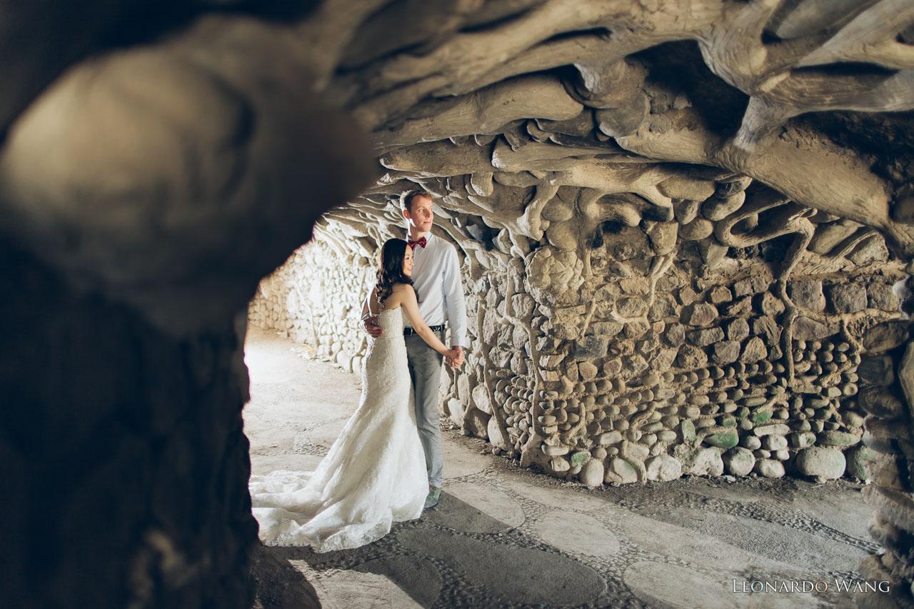 温暖的巴厘岛婚纱摄影-自然别致的蜜月婚纱照情侣写真