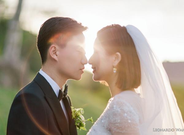 巴厘岛婚礼摄影-迷人的巴厘岛金巴兰四季酒店草坪婚礼