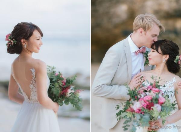 巴厘岛婚礼摄影-喜悦的巴厘岛乌干沙别墅悬崖婚礼-LEONARDO WANG