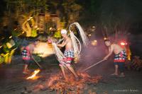 巴厘岛婚礼摄影Royal Pita Maha独特的乌布森林河谷婚礼
