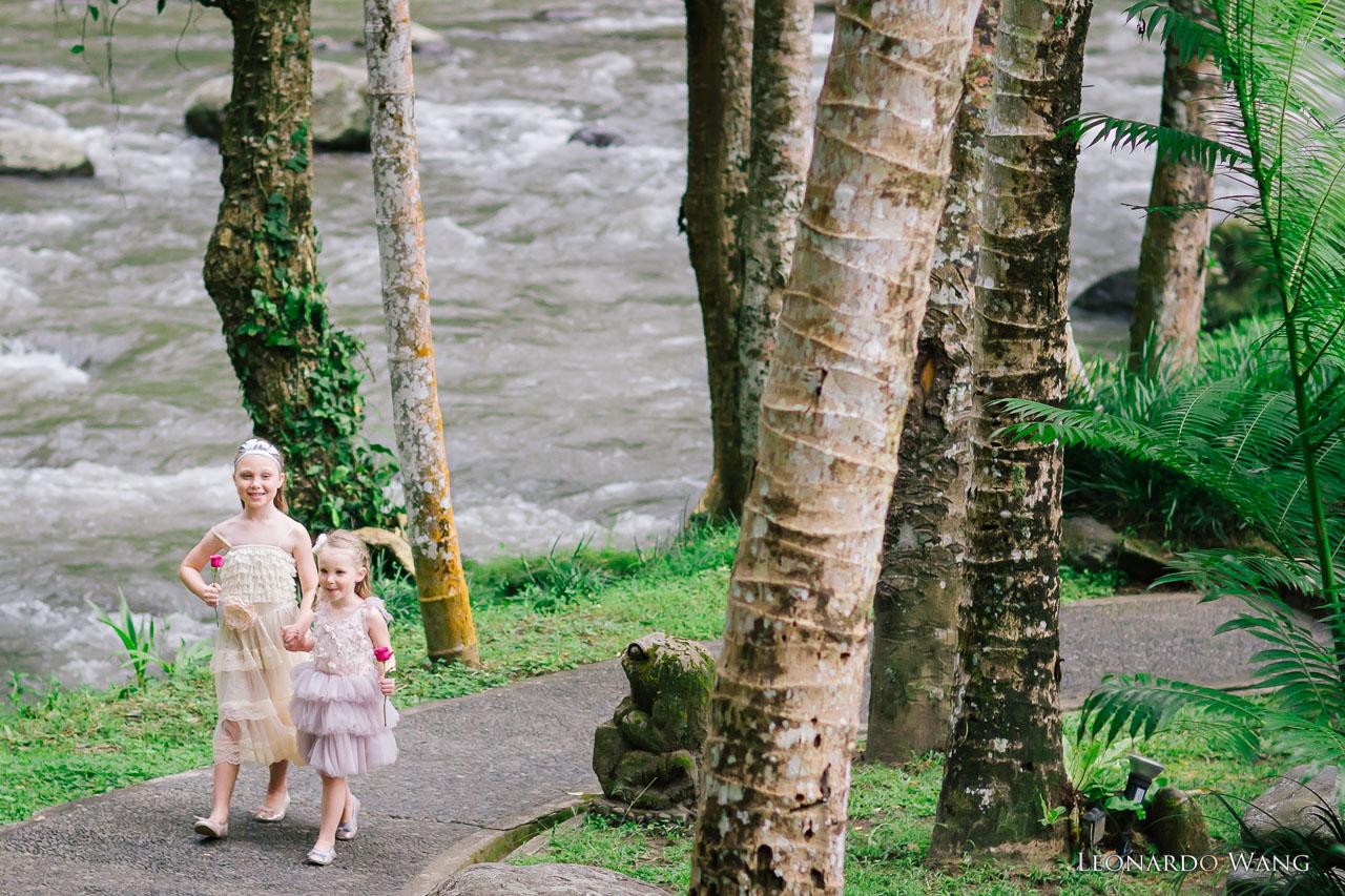 巴厘岛婚礼摄影Royal Pita Maha独特的乌布森林河流婚礼-08