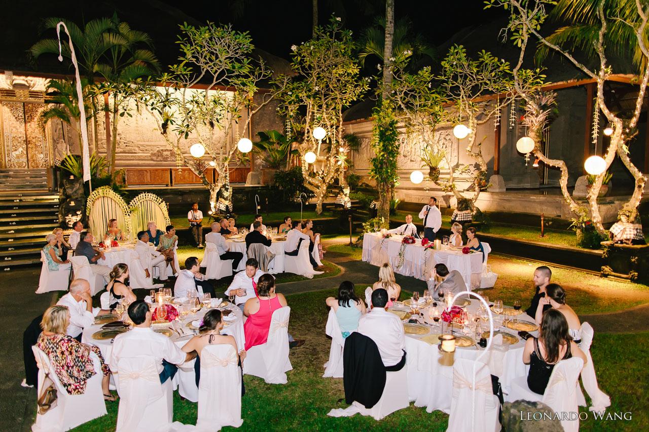 巴厘岛婚礼摄影Royal Pita Maha独特的乌布森林河流婚礼