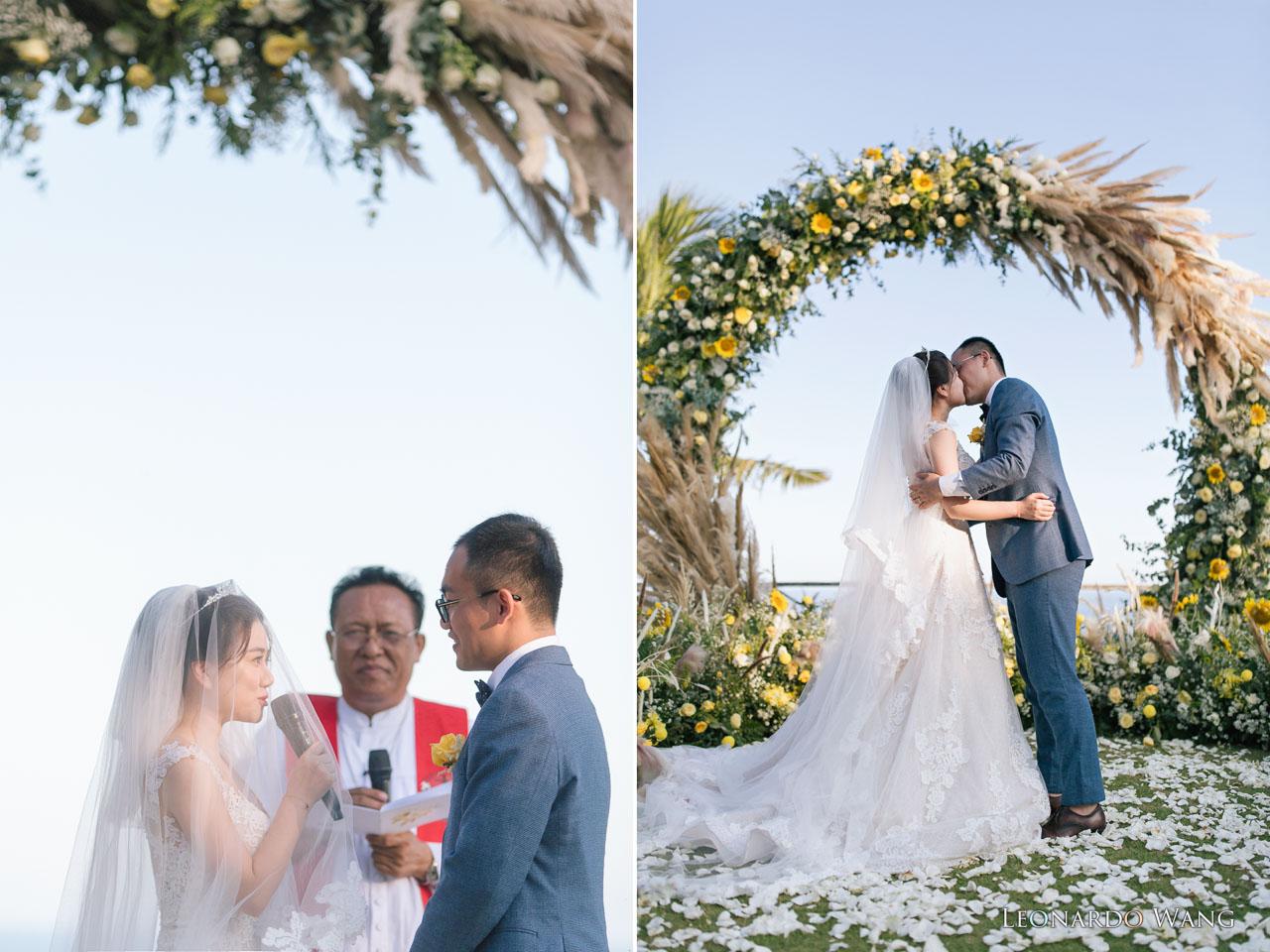 巴厘岛婚礼摄影Khayangan Estate温馨的梦幻庄园婚礼