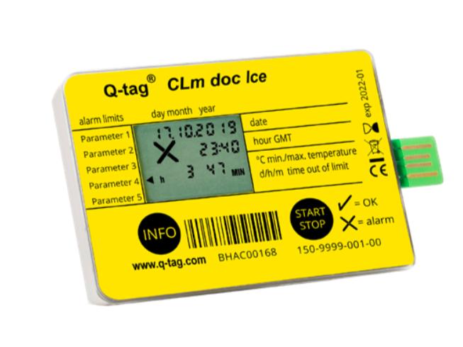 Q-tag CLm doc Ice