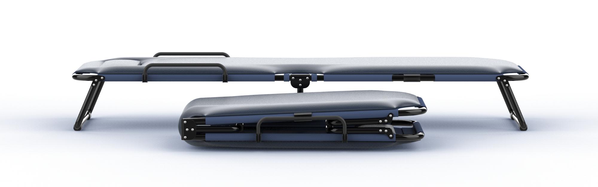 折叠床设计 文创类产品设计 外观创新设计 产品设计