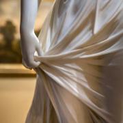 雕刻中薄纱的表现