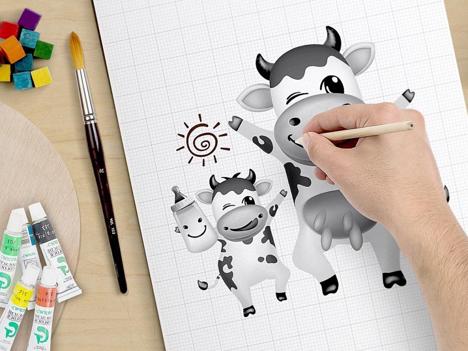 卡通小牛4