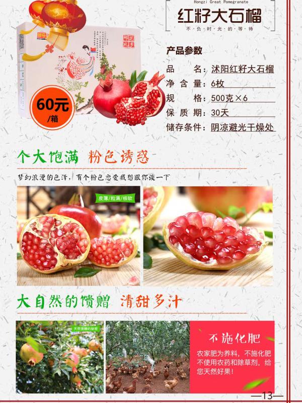 13红籽大石榴