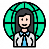 Businesswoman 女商人
