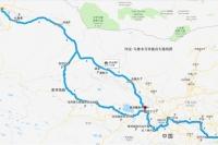 西安-新疆奔驰房车路线图
