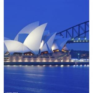 到达澳大利亚
