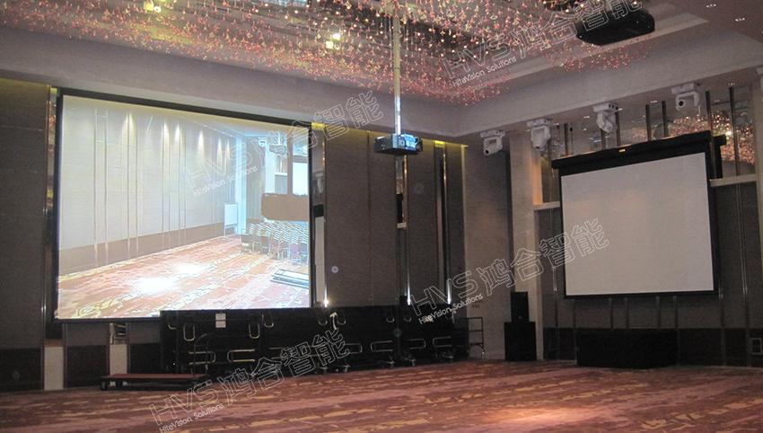 1-3 腾讯公司展厅智能会议室