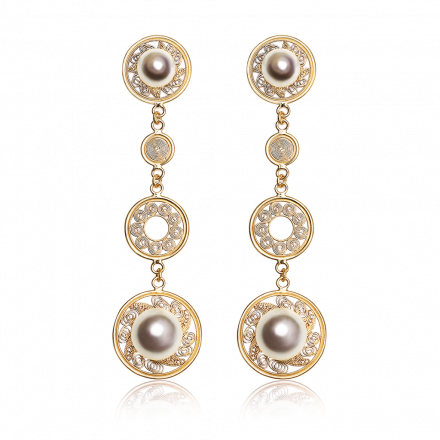 yellow-gold-pearl-earrings
