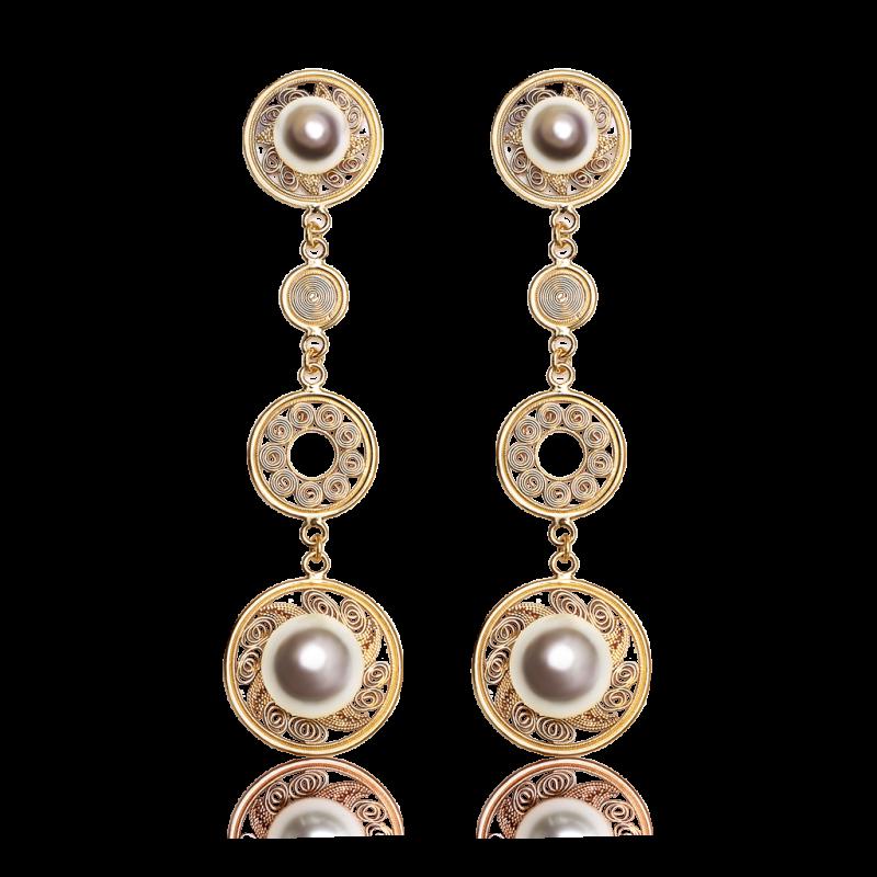yellow-gold-pearl-earrings