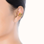 model_gold ear clip