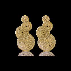 耳环3-金色