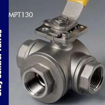 博雷MPT130、MPC130多端口球阀