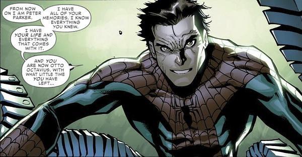 AMAZING SPIDER-MAN #699中一格