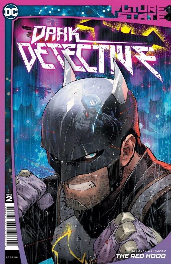 《未来线:黑暗侦探》第二期封面