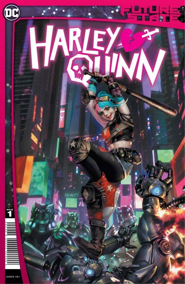 《未来线:哈莉·奎因》第一期封面
