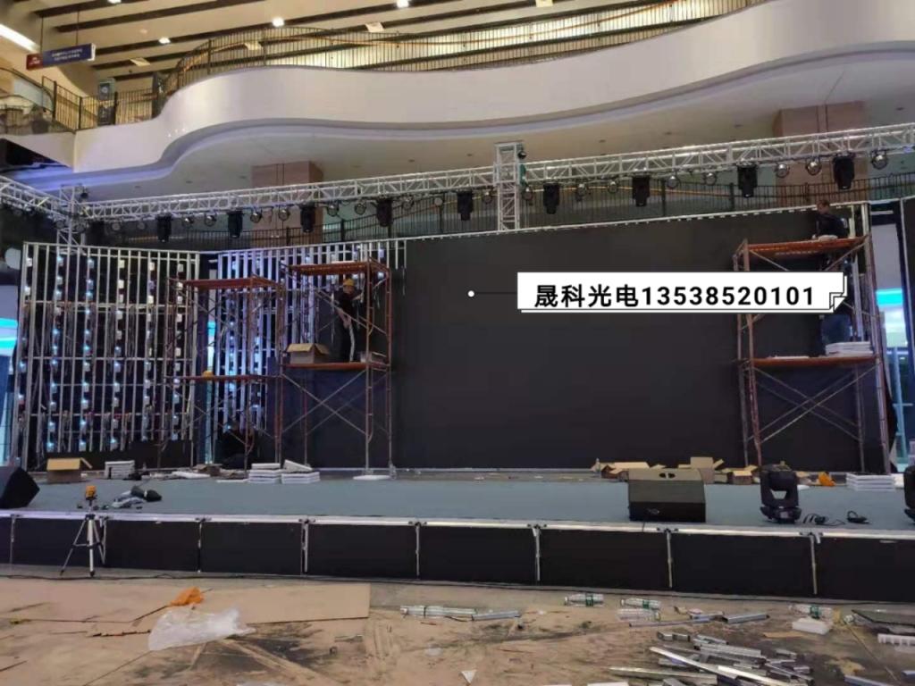 P3室内舞台led显示全彩屏