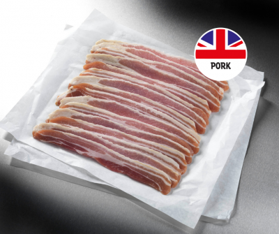 41 British Unsmoked Streaky Bacon