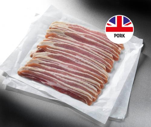 41 British Unsmoked Streaky Bacon