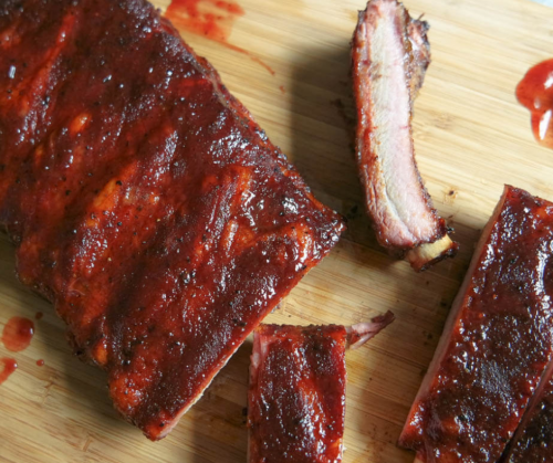 19 Smoked BBQ Pork Ribs