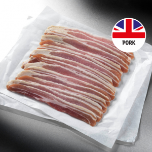 40 British Smoked Streaky Bacon