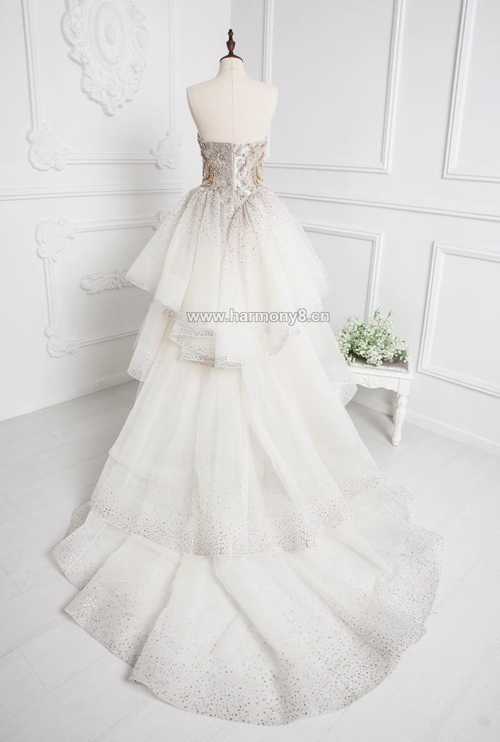 婚纱,施华洛世奇,烫钻