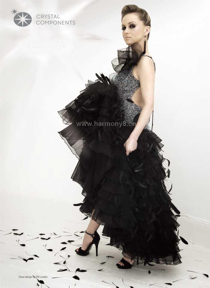 烫钻,服饰,晚礼服
