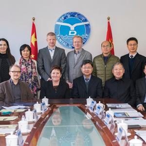 SAMK大学与烟台大学签署框架合作协议