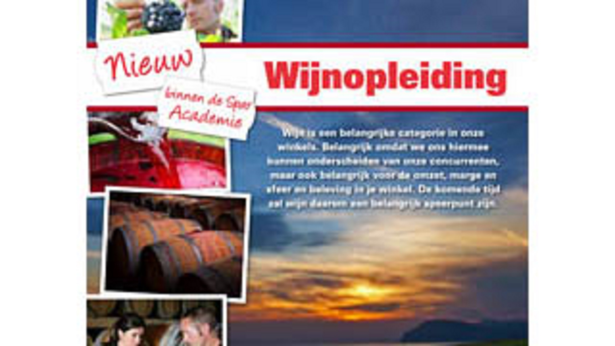 NETHERLANDS-Wine-training