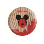 Mickey城市系列瓷盘之北京
