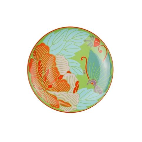 蝶戀花 8寸瓷盤3