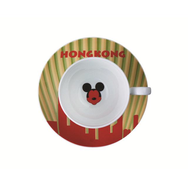 Mickey城市系列咖啡杯之香港